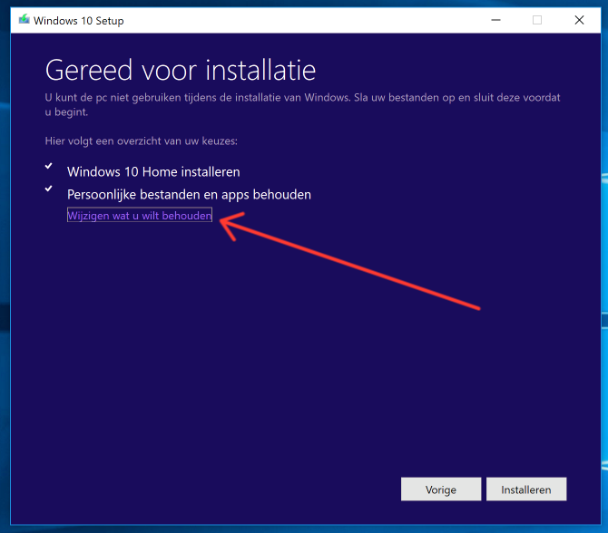 Hoe wil je windows installeren?